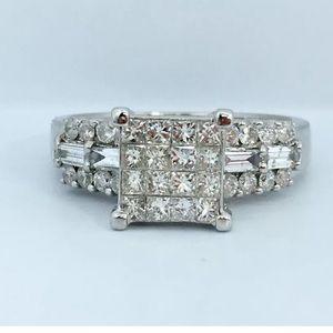 Jewelry - 0.60 carat 14k white gold diamond ring